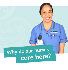 Why do our nurses care here?